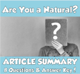"""AP Psychology- """"Are You a 'Natural'?"""" Article Summary (Bouchard, T)"""