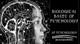 AP Psychology | Biological Bases of Behavior PowerPoint *Editable *50 Min Period