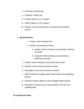 AP Psychology Brain and Biology/Genetics Study Guide