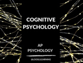 AP Psychology | Cognitive Psychology PowerPoint *Editable *50 Minute Periods