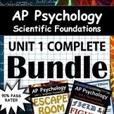 AP Psychology Unit 1 - Full Unit - Scientific Foundations