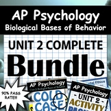 AP Psychology Unit 2 - Full Unit - Biological Bases of Beh
