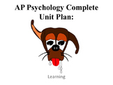 AP Psychology Learning Complete Unit Plan