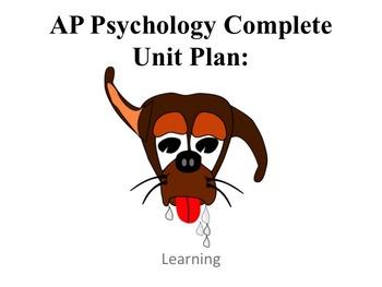 AP Psychology Learning Complete Unit Plan