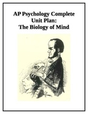 AP Psychology Complete Unit The Biology of Mind