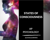 AP Psychology | Consciousness & Cognition PowerPoint *Editable *50 Min Periods