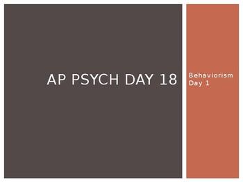 AP Psychology Day 18 slides