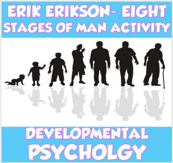 AP Psychology Developmental Psych- Erikson's 8 Stages of Man Activity (Unit 9)