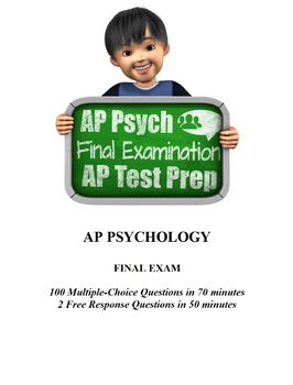 AP Psychology Final Exam / AP Exam Test Prep