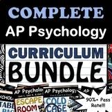 AP Psychology Full Curriculum Bundle - Google Drive, 90% Pass Rate, Updated 2019