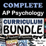 AP Psychology Full Curriculum Bundle - Google Drive, 90% Pass Rate, Updated 2019