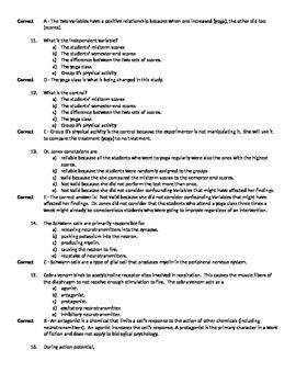 AP Psychology Full-Length Practice Exam 2