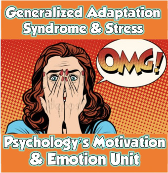AP Psychology Generalized Adaptation Syndrome & Stress (Motivation/Emotion)