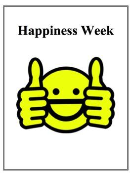 Happy Week Stress Reduction Activity
