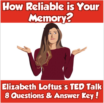 AP Psychology- How Reliable is Your Memory? (TED Talk/Elizabeth Loftus)