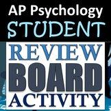AP Psychology - Institutional Review Board Enactment - Unit 9: Social Psychology