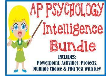 AP Psychology Intelligence & Testing unit BUNDLE Powerpoin