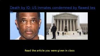 AP Psychology: Intelligence Unit - Death by IQ