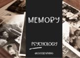 AP Psychology | Memory PowerPoint *Editable *Block Schedule (Block)