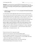 AP Psychology Midterm Free Response Questions (FRQ) Exam