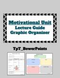 AP Psychology Motivation Organizer/Lecture Guide