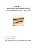 AP Psychology PB & J Diathesis Stress Model Demonstration