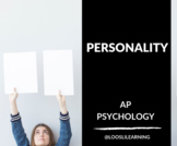 AP Psychology | Personality & Intelligence PowerPoint *Editable *50 Min Periods