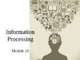 AP Psychology Power Point Information Processing Memory Module 21