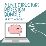 AP Psychology PowerPoints | All Units | *50 Minute Period | *Editable
