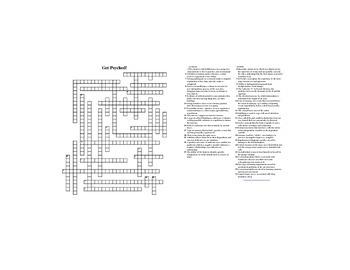 AP Psychology Review Crossword Puzzle