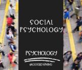 AP Psychology | Social Psychology *Editable *Block Schedule