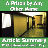 AP Psychology Stanford Prison Experiment Article Summary (Zimbardo)