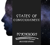 AP Psychology | States of Consciousness PowerPoint *Editable *Block Schedule