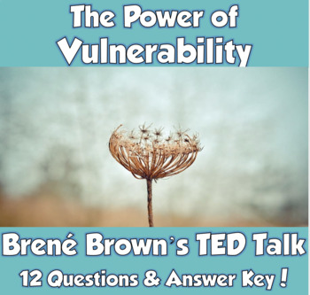 AP Psychology TED Talk- The Power of Vulnerability (Motivation & Emotion)