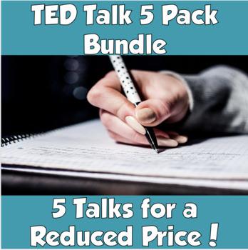 AP Psychology TED Talks 5 Pack Bundle