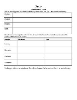 AP Psychology Test Prep Workbook