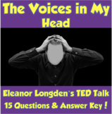 AP Psychology- The Voices in My Head TED Talk (Unit 12-Sch