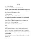 AP Psychology Unit 1 Plan