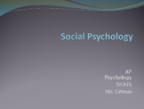 AP Psychology - Unit 13 PowerPoint (Social Psych)