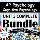 AP Psychology - Unit 5 - Full Unit - Cognitive Psychology - Google Drive Access!