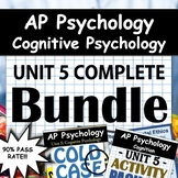 AP Psychology - Unit 5 - Full Unit - Cognitive Psychology - Google Drive Access!