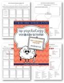AP Psychology Vocabulary: Unit 2 (modules 4-8) Research Methods