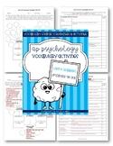 AP Psychology Vocabulary: Unit 6 (modules 26-30) Learning