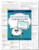 AP Psychology Vocabulary: Unit 7B (modules 34-36) Cognitio
