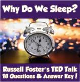 AP Psychology- Why Do We Sleep? TED Talk (Unit 5 Levels of