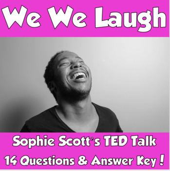 AP Psychology- Why We Laugh Sophie Scott TED Talk (Unit 8- Motivation & Emotion)