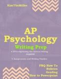 AP Psychology-Writing (FRQ) Bootcamp