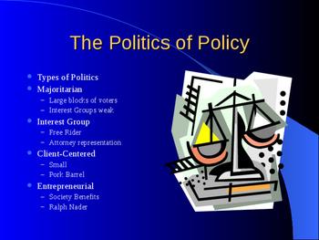 AP Public Policy Notes