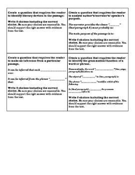 AP Question Stem Analysis