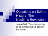 """AP Questions on """"Before History: The Neolithic Revolution"""""""